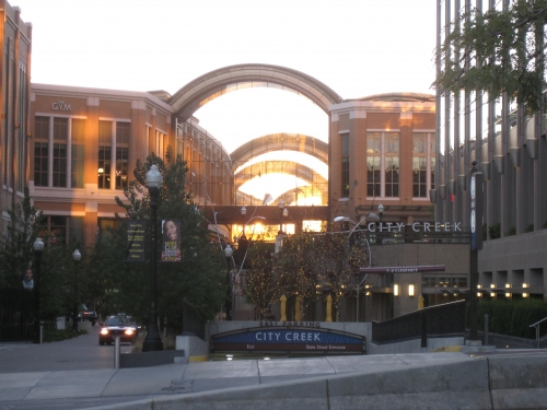 Bypassing Salt Lake City's Heart - The Vital Signs of City Creek Center